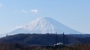富士山(元旦)